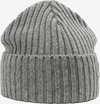 Sätila of Sweden Beanie Avan mit modischem Rippstrick-Muster in grau, Produktansicht