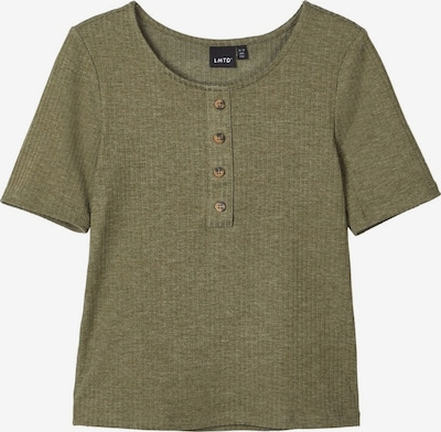 NAME IT Rippdesign T-Shirt in khaki, Produktansicht