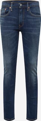 Jeans '519™ Ext Skinny Hi Ball ' di LEVI'S in blu