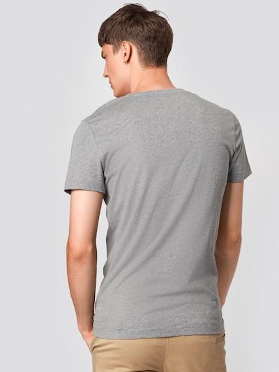 Calvin Klein Jeans T-Shirt en gris: Vue de dos