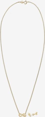 Diamore Jewelry Set 'Infinity, Solitär' in Gold