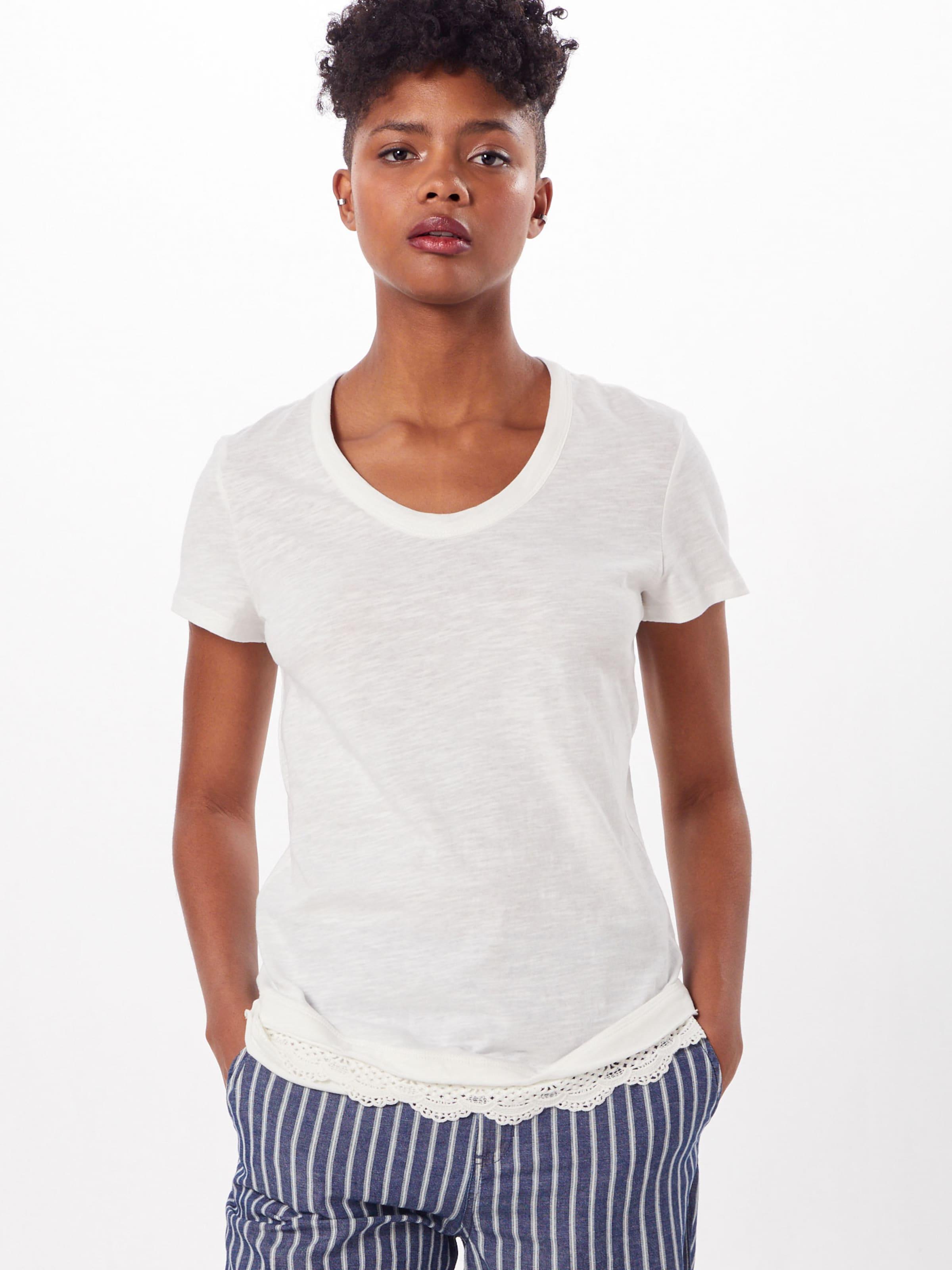 T shirt En Blanc Esprit Cassé vNmy8OPn0w