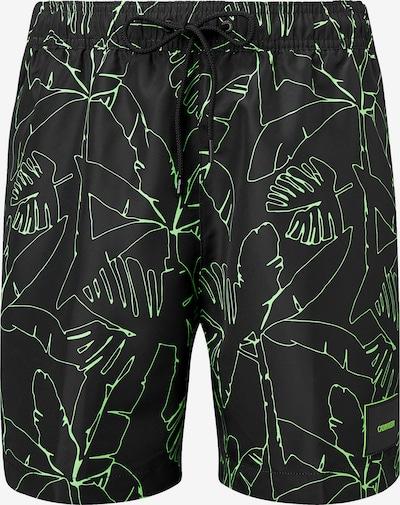 Calvin Klein Zwemshorts in de kleur Groen / Zwart, Productweergave