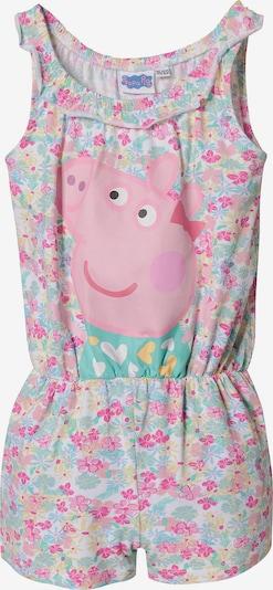 Peppa Pig Jumpsuit in mischfarben / rosa / hellpink, Produktansicht