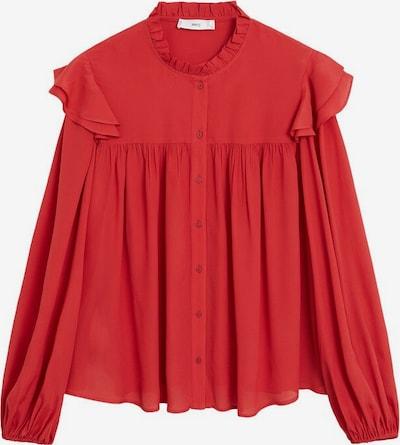 MANGO Bluse zaidicre in rot, Produktansicht