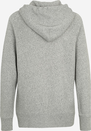 LEVI'S Sweatshirt in mottled grey / Red: Rear view