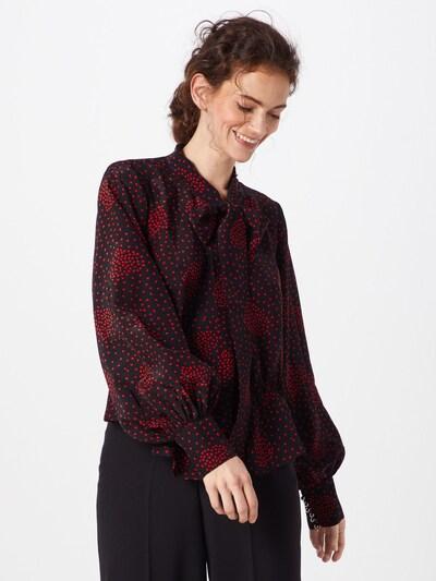 The Kooples Bluzka w kolorze czerwony / czarnym, Podgląd na modelu(-ce)