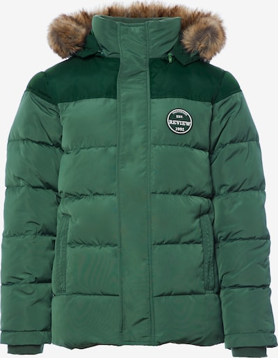REVIEW FOR KIDS Winterjacke in grün / tanne, Produktansicht