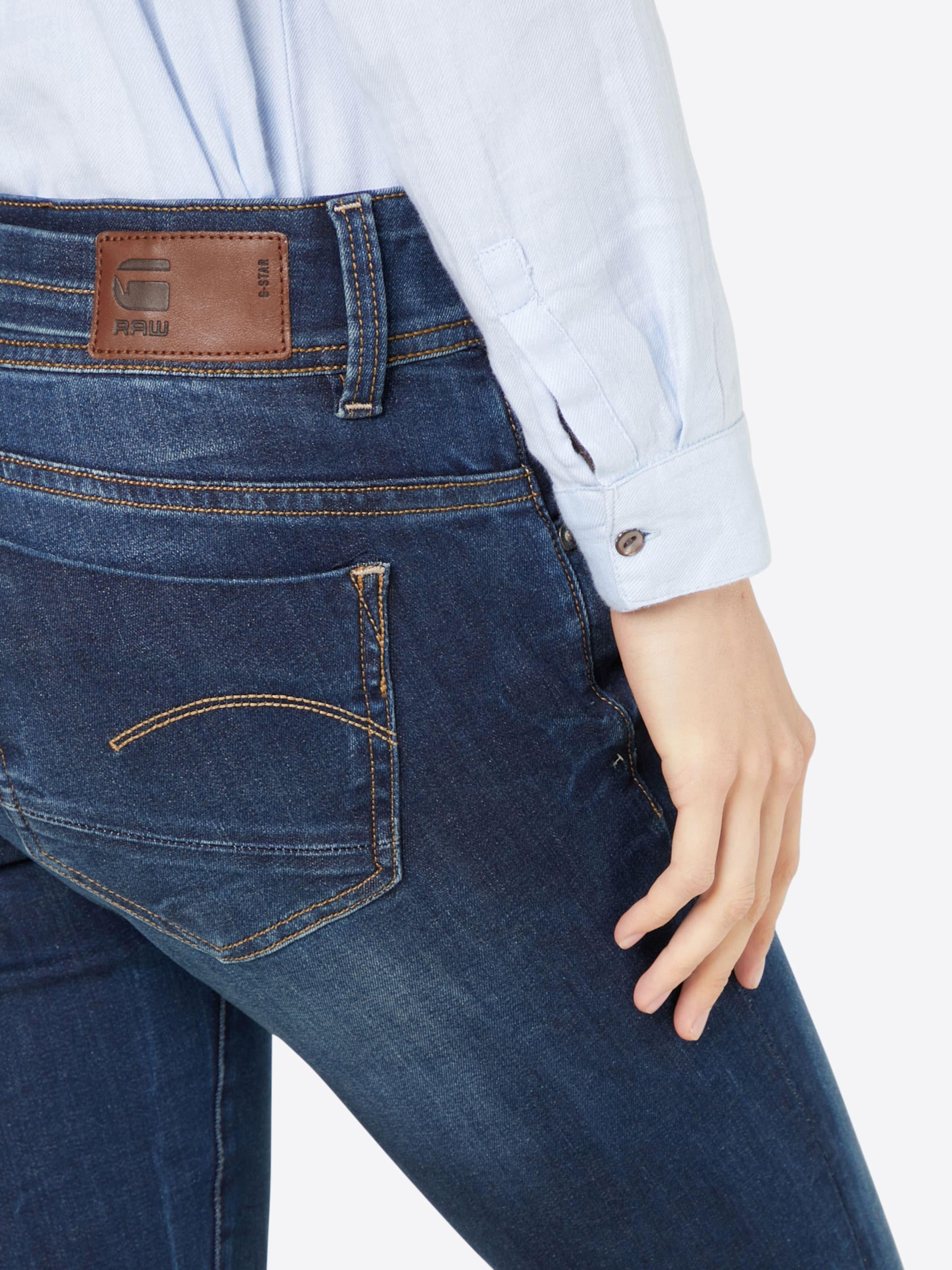 G-STAR RAW 'Midge Saddle Mid Straight' Jeans Preiswert Js4jPG3LV