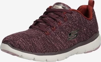 SKECHERS Sneaker 'FLEX APPEAL 3.0 HIGH TIDES' in burgunder / weiß, Produktansicht