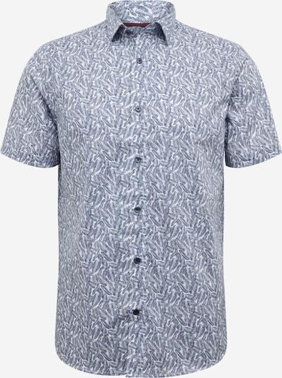 Matinique Hemd in blau / weiß: Frontalansicht