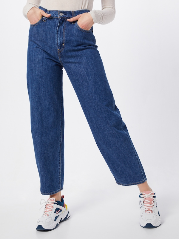 LEVI'S Jeans 'BALLOON LEG' in blue denim, Modelansicht