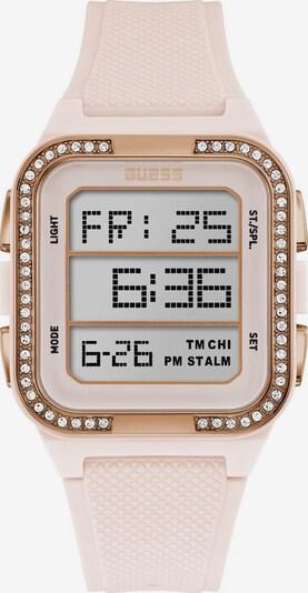 GUESS Uhr in beige / gold, Produktansicht