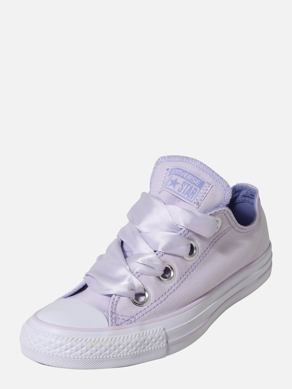 ee60e05750c CONVERSE Sneakers laag 'CHUCK TAYLOR ALL STAR BIG EYELETS - OX' in Lila /  Wit | ABOUT YOU