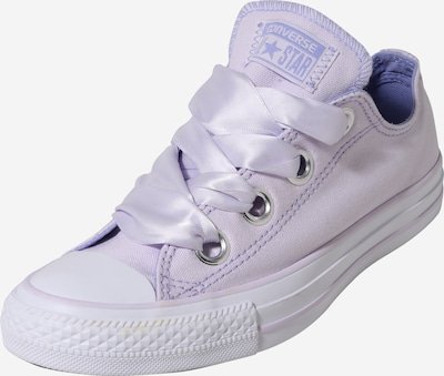 CONVERSE Sneaker 'CHUCK TAYLOR ALL STAR BIG EYELETS - OX' in lila / weiß: Frontalansicht