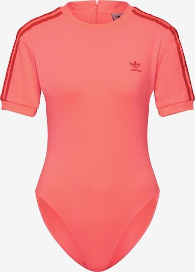 ADIDAS ORIGINALS Bodyshirt in orangerot, Produktansicht