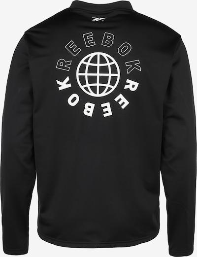 REEBOK Trainingsshirt in schwarz, Produktansicht