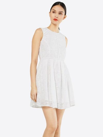 Review Kleid 'SHEER' in weiß, Modelansicht
