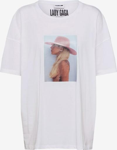 Noisy may T-shirt en blanc, Vue avec produit