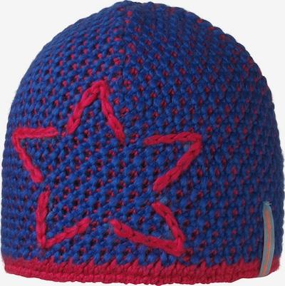 STÖHR Mütze 'ASTREL' in blau / kirschrot, Produktansicht