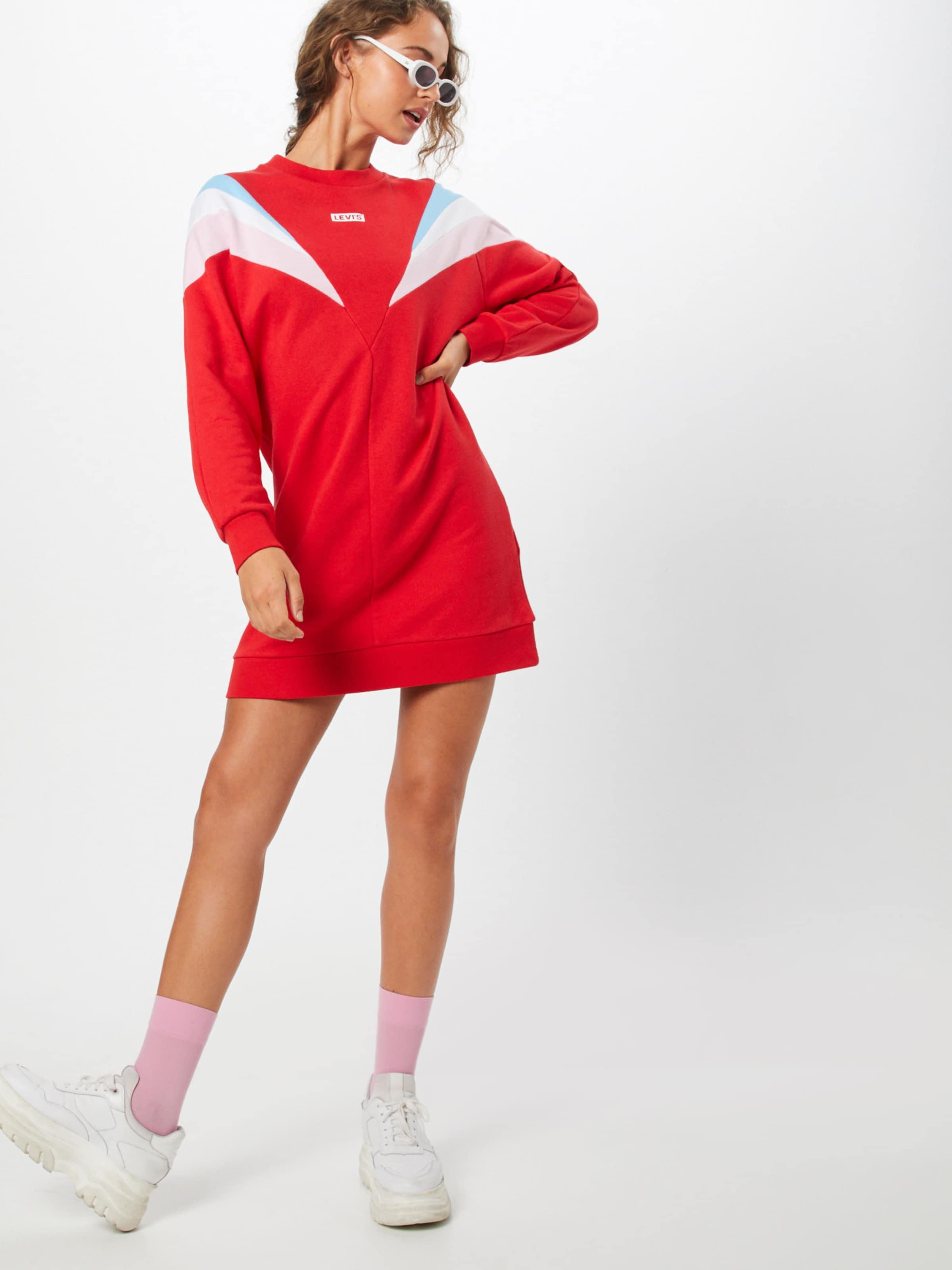 Kleid Dress' Levi's 'florence Crew In Rot PZkXiu