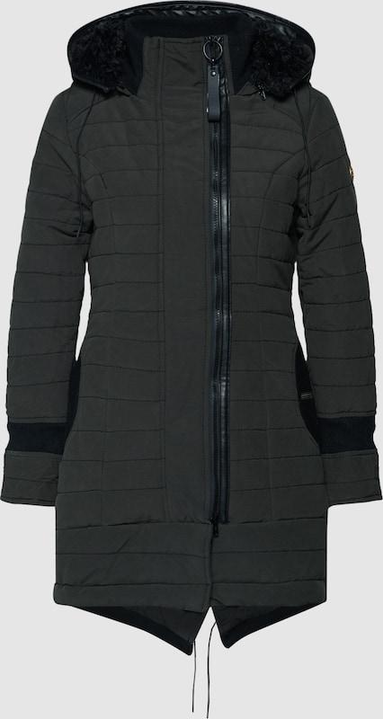 Khujo Mantel 'CAYUS2' in schwarz  Mode neue Kleidung