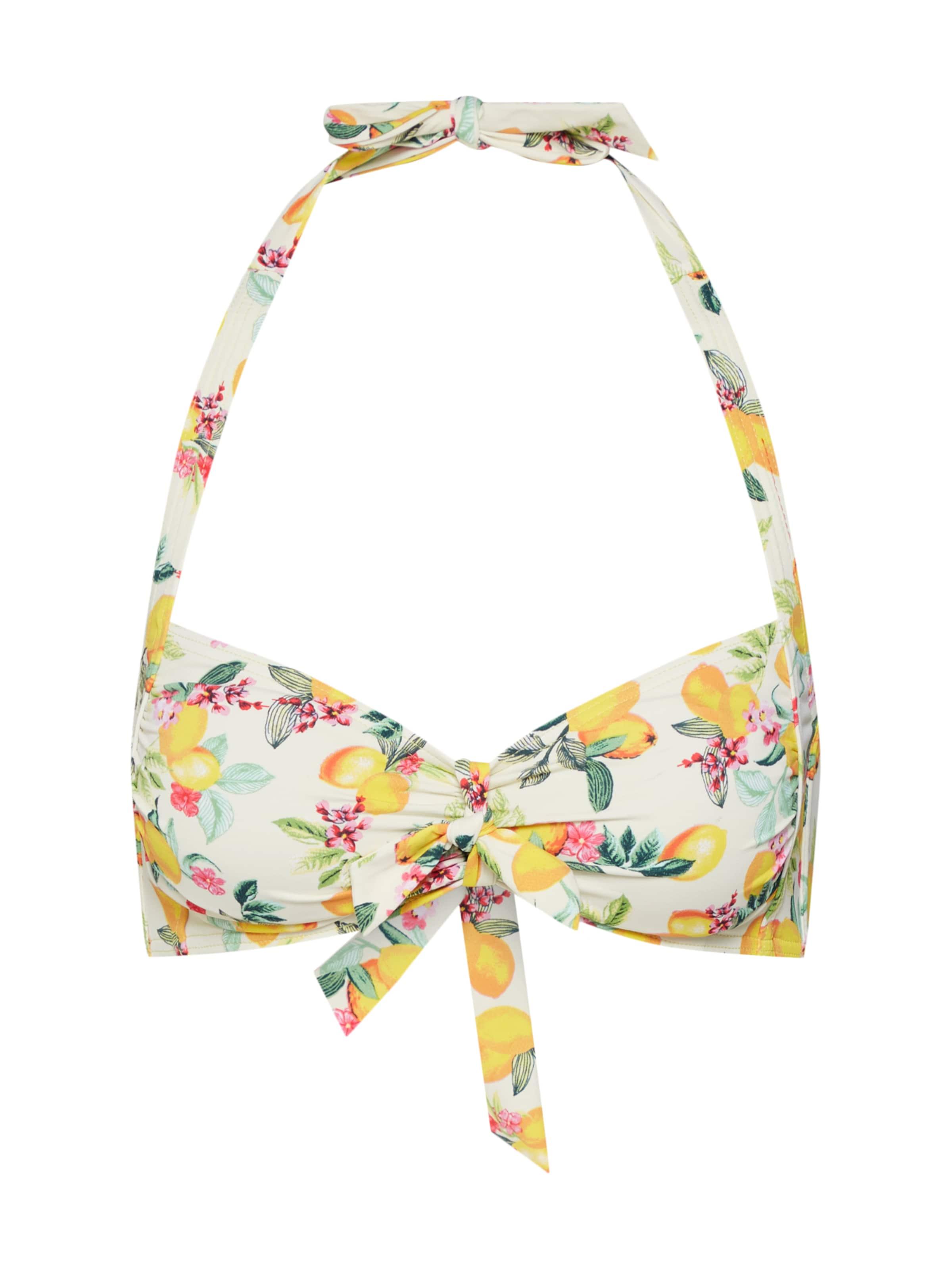 Halterneck' Esprit Pad 'panama Hauts Beach Bikini Jaune De En 08nPXNOwk
