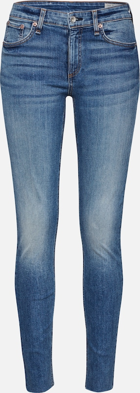rag & bone Jeans 'CATE SKINNY' in blue denim, Produktansicht