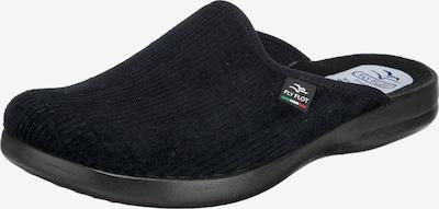 FLY FLOT Hausschuh in schwarz, Produktansicht