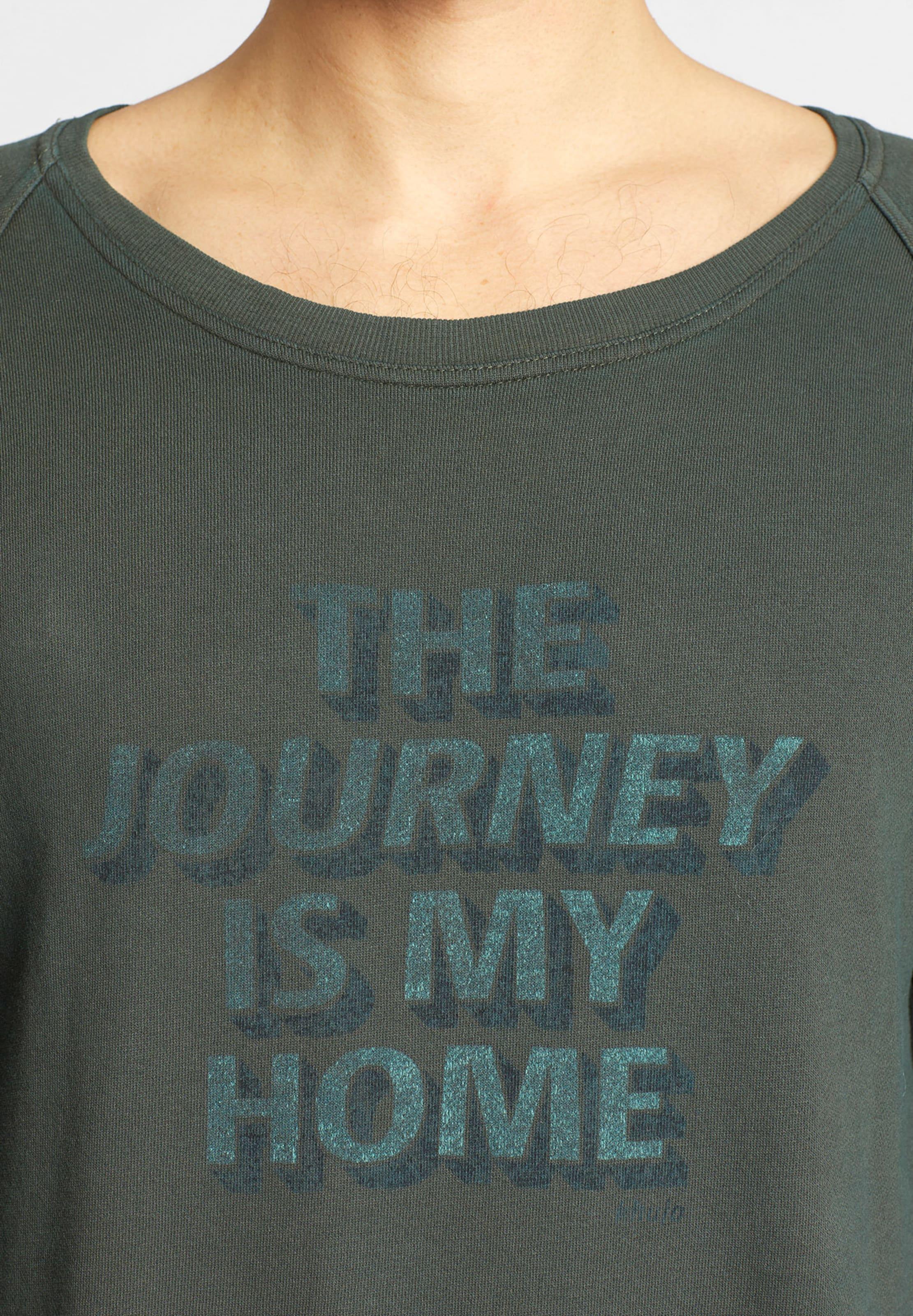In Grün Khujo Sweatshirt Sweatshirt 'worth' Khujo 'worth' In rCodxBeW