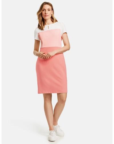 GERRY WEBER Kleid in altrosa / hellpink / weiß, Modelansicht