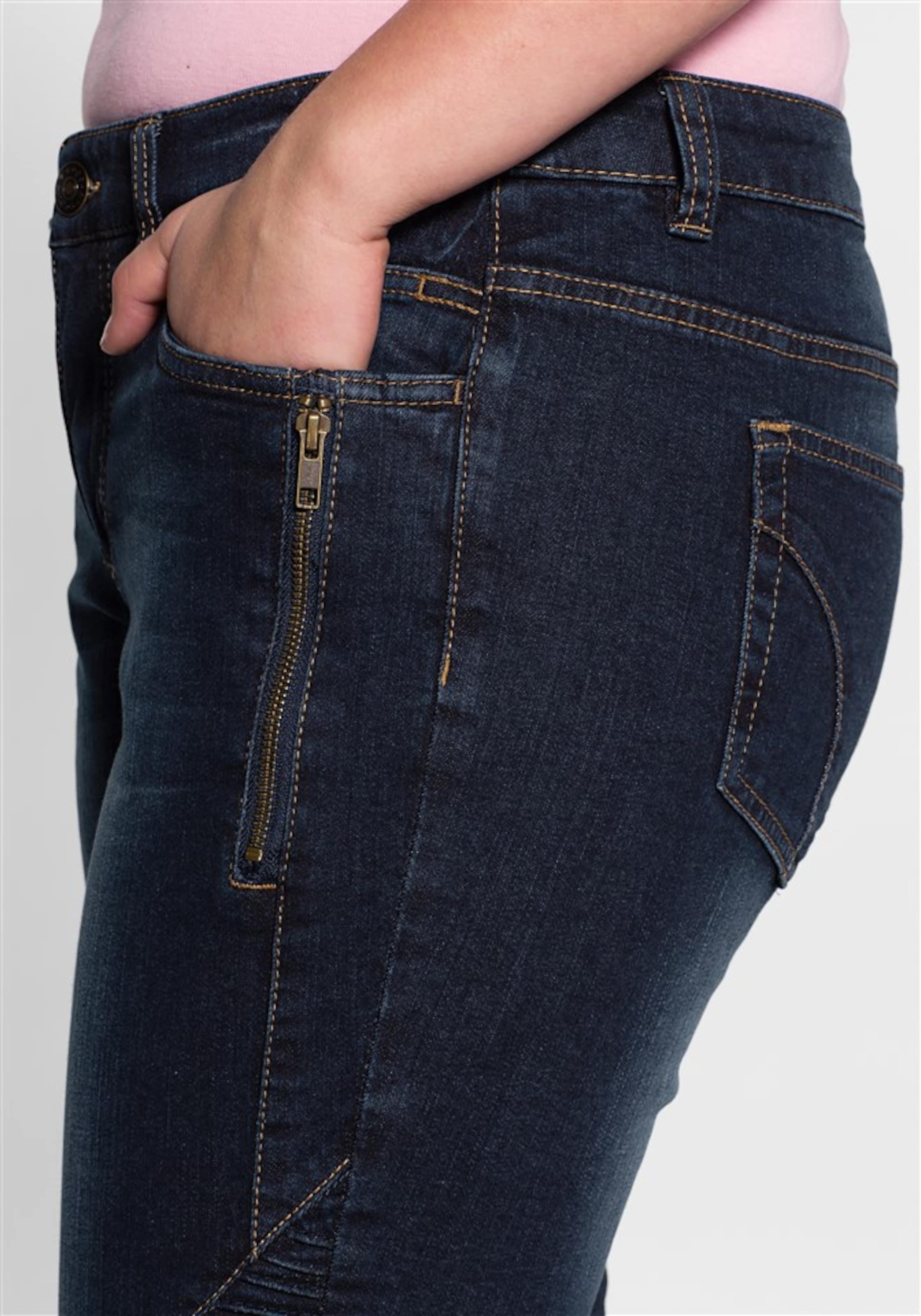 sheego denim Stretch-Jeans Billig Verkauf Blick Beste Online Online-Shopping-Spielraum 2018 Neuer Online-Verkauf lnYDV