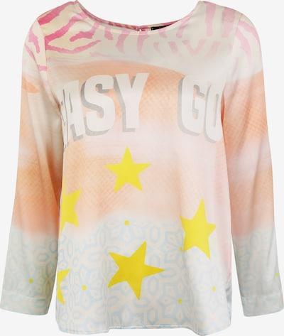 Grace Seidenbluse mit Allover-Print in beige / lachs, Produktansicht