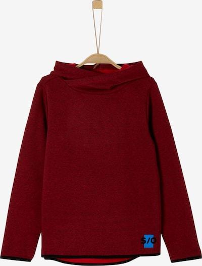 s.Oliver Junior Sweatshirt in blutrot / schwarz, Produktansicht