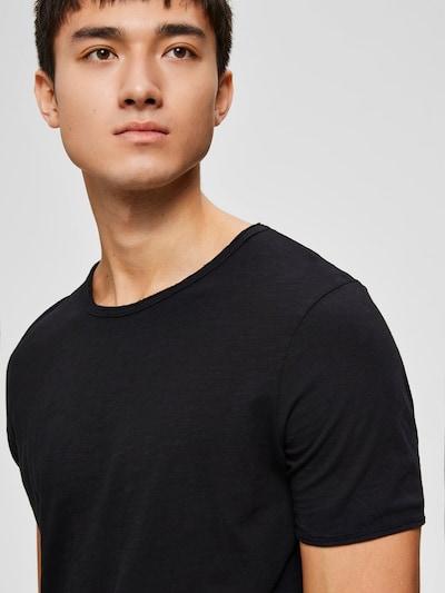SELECTED HOMME Majica 'MORGAN' u crna: Prednji pogled