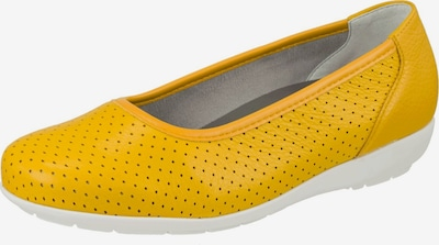 Natural Feet Ballerina 'Annabelle' in limone, Produktansicht