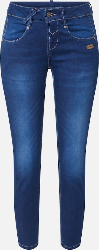 Gang Jeans 'NELE X-CROPPED' in blue denim, Produktansicht