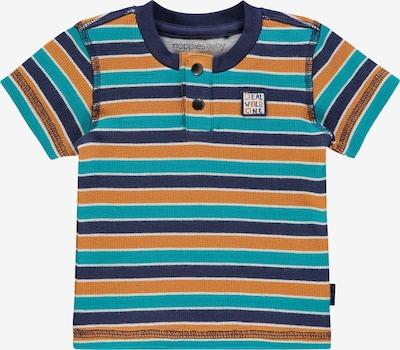 Noppies T-Shirt 'Seymour' in marine / türkis / dunkelorange / weiß, Produktansicht