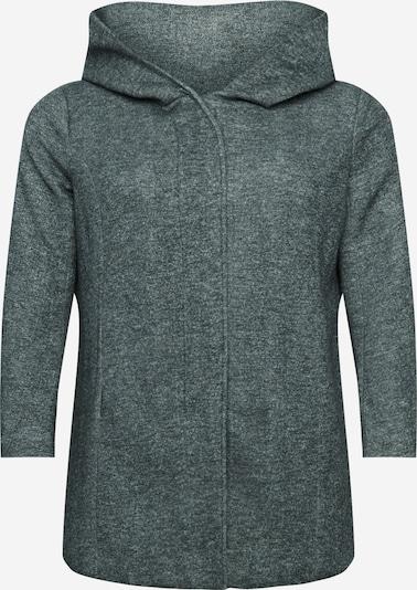 ONLY Carmakoma Manteau mi-saison en gris chiné, Vue avec produit
