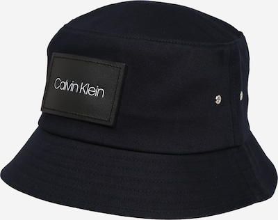 Calvin Klein Bucket Hut 'LEATHER PATCH BUCKET' in navy, Produktansicht