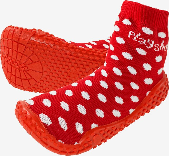 PLAYSHOES Schuhe in rot, Produktansicht