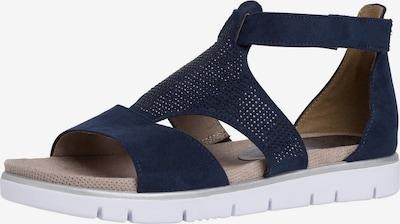 JANA Sandales en bleu marine, Vue avec produit