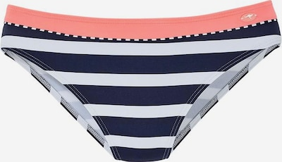KangaROOS Bikinihose in navy / neonpink / weiß, Produktansicht