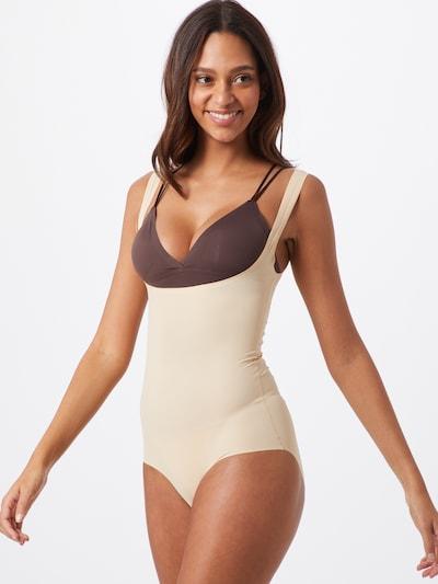 MAGIC Bodyfashion Shapingbody 'Maxi Sexy' in de kleur Beige: Vooraanzicht