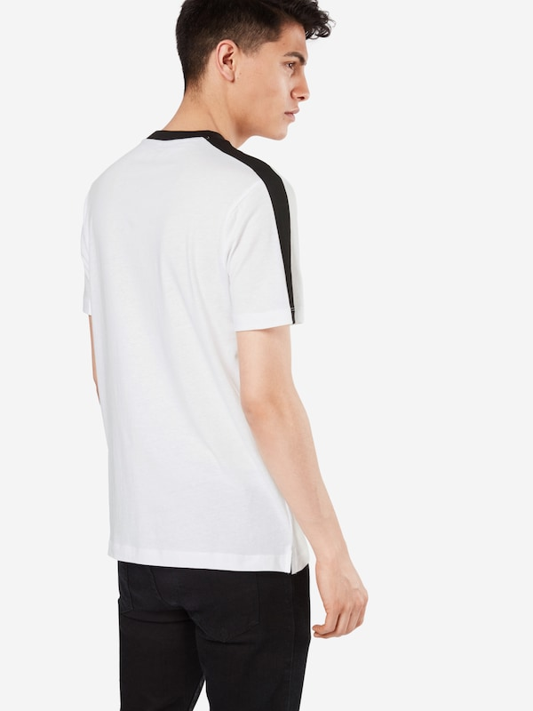 NEW LOOK T-Shirt 'RINGER WITH SIDE STRIPE P'
