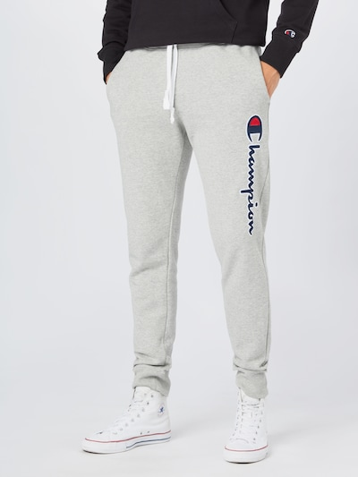 Champion Authentic Athletic Apparel Hose in dunkelblau / hellgrau / rot / weiß, Modelansicht