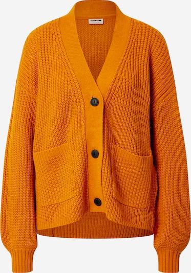 Noisy may Gebreid vest in de kleur Sinaasappel, Productweergave