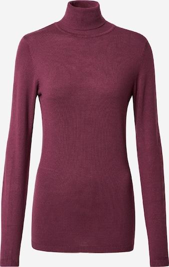 ICHI Sweter 'MAFA' w kolorze jagodam: Widok z przodu