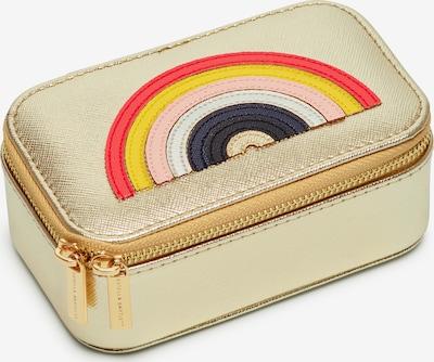 Estella Bartlett Schmuckbox 'Mini Jewellery Box' in gold / mischfarben, Produktansicht