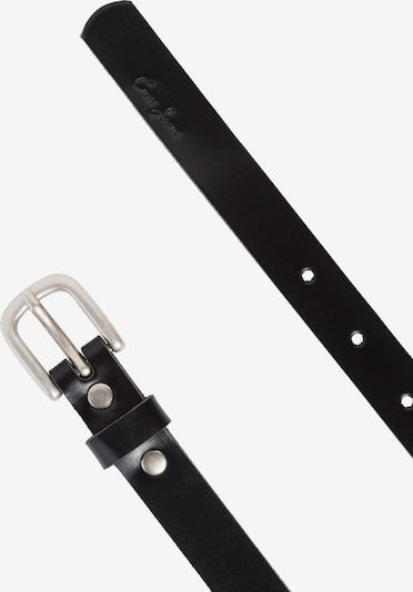 Cross Jeans Gürtel in schwarz, Produktansicht